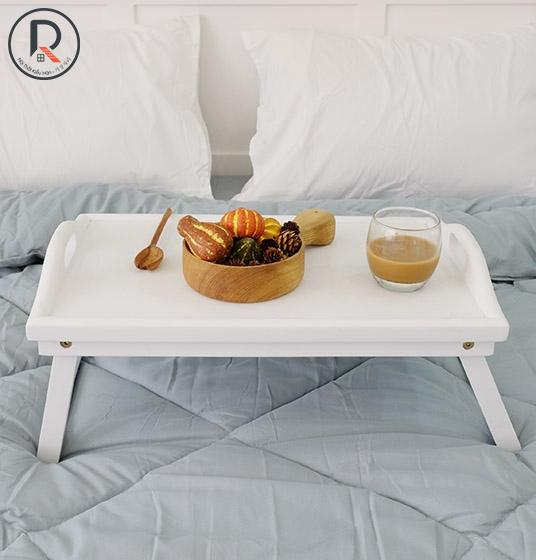 BED TRAY TRẮNG