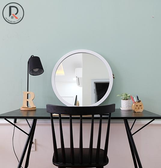 MONELLI CIRCLE MIRROR D60 TRẮNG