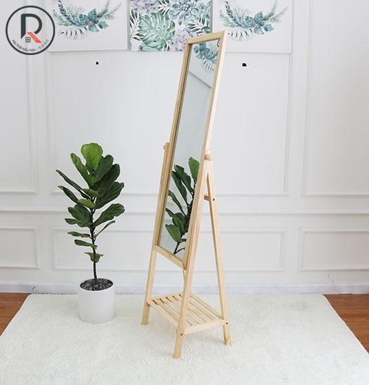 SHELF MIRROR GỖ