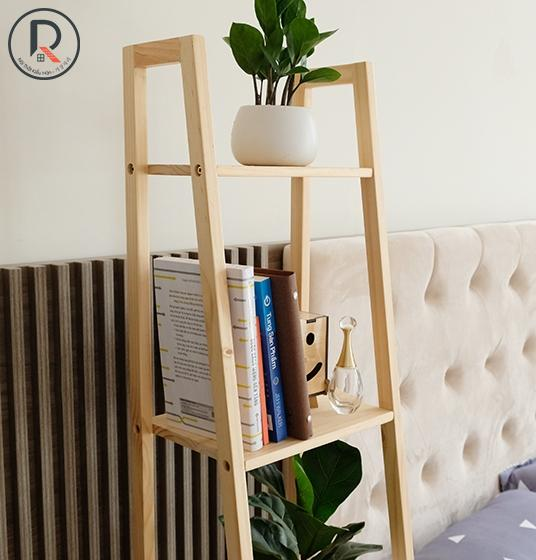 A BOOK SHELF 4FS GỖ