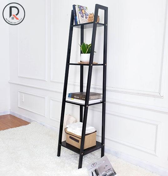 A BOOK SHELF 4FS ĐEN