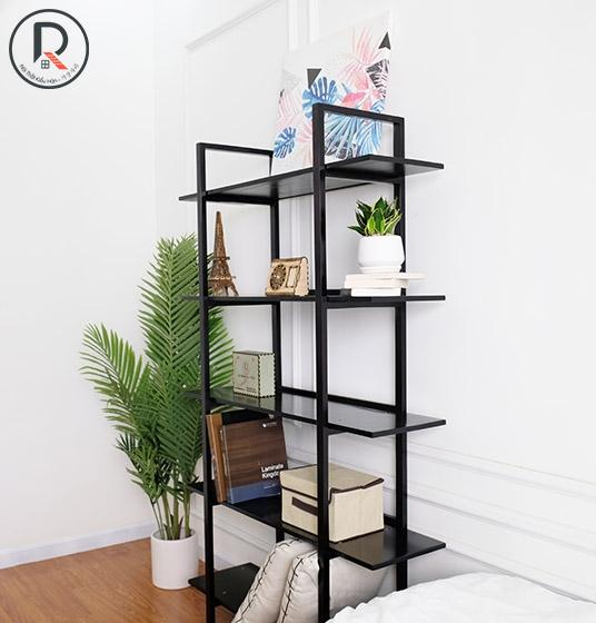 B BOOK SHELF 5F ĐEN