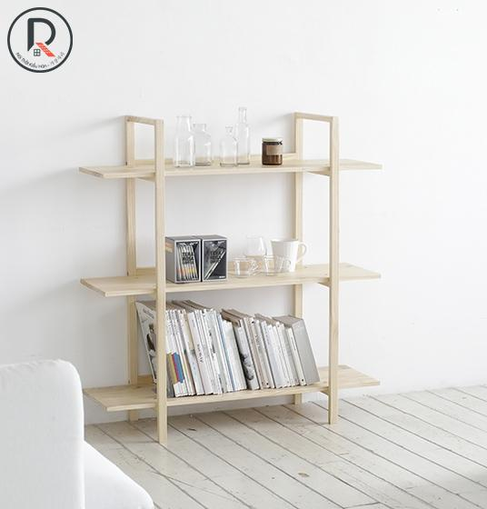 B BOOK SHELF 3F GỖ