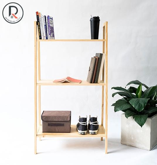 A BOOK SHELF 3FL GỖ