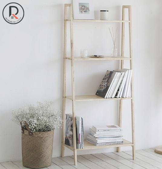 A BOOK SHELF 4FL GỖ