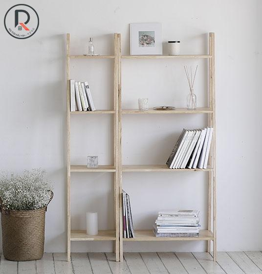 SET A BOOKSHELF 4F GỖ