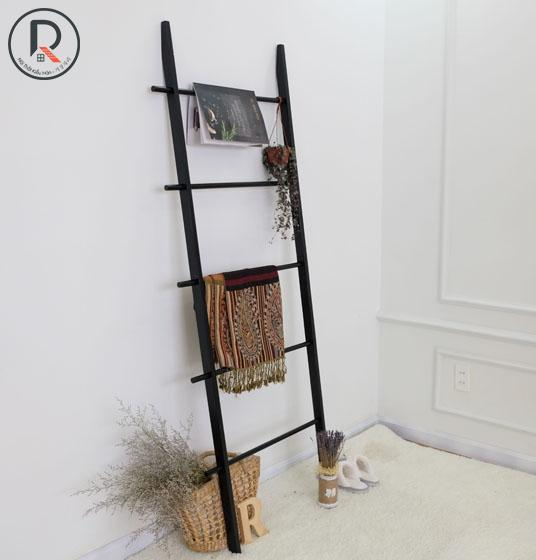 B TOWEL LADDER ĐEN