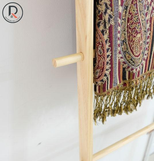 B TOWEL LADDER GỖ