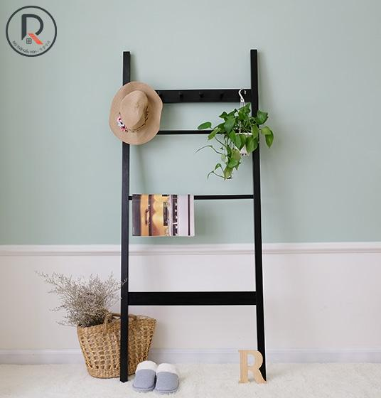 C TOWEL LADDER ĐEN